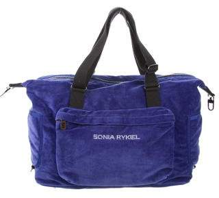 Sonia Rykiel Woven Travel Bag