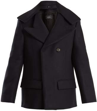 Joseph Han double-breasted wool-blend coat