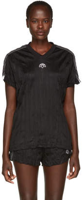 adidas by Alexander Wang Black Jersey T-Shirt