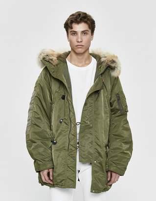 Visvim Valdez Wool Pile Coat