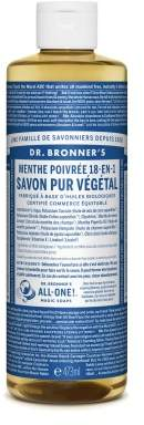 Dr. Bronner's Pepper Mint Liquid Soap 475ml