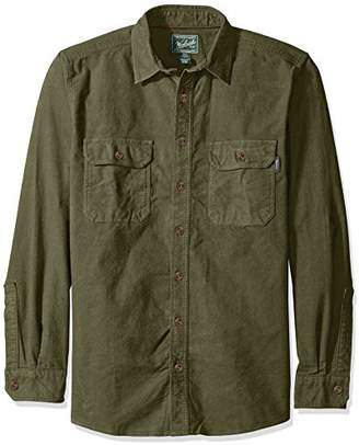 Woolrich Men's Tall Size Expedition Chamois Shirt Long