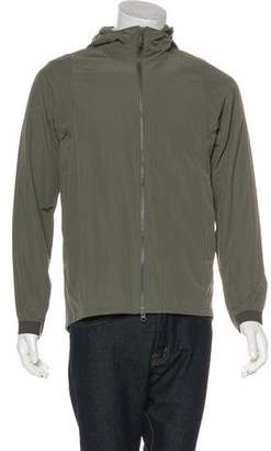 Theory 38 Hooded Zip Jacket