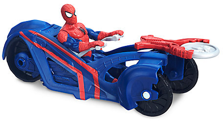 Spider-Man Action Figure with Street Racer Set - Ultimate Spider-Man vs. The Sinister Six - 6''