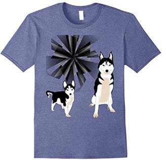 siberian husky T Shirt dog puppy pets animal