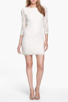 Diane von Furstenberg Zarita Lace Sheath Dress