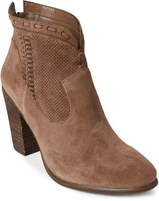 Vince Camuto Wild Mushroom Fretzia Suede Ankle Booties