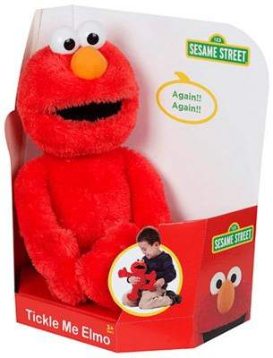 Sesame Street Tickle Me Elmo Plush