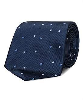 Van Heusen Navy Spot Tie