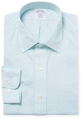 Brooks Brothers Check Dress Shirt