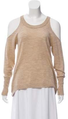 Ramy Brook Cold-Shoulder Wool Top