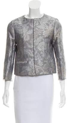 Oscar de la Renta Floral Jacquard Jacket w/ Tags