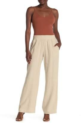 Supply & Demand Sabrina Linen Blend Pull-On Pants