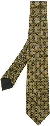 Hermes Pre-Owned patterned tie