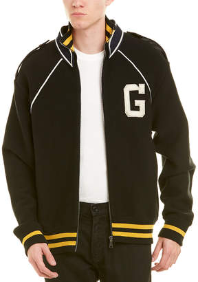 Gucci G Monogram Wool Varsity Jacket