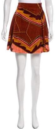 Just Cavalli Pleat Mini Skirt