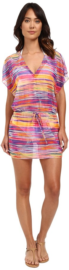 Lauren Ralph LaurenLAUREN Ralph Lauren Summer Tie-Dye Poolside Tunic Cover-Up