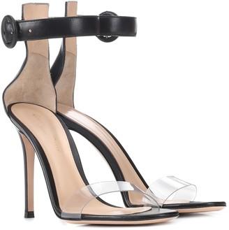 Gianvito Rossi Stella leather sandals