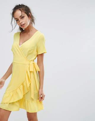 New Look Ruffle Wrap Dress
