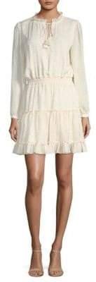 Rebecca Minkoff Rosemary Long Sleeve Tassel Dress