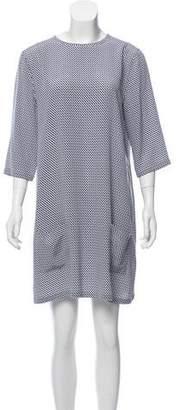 Equipment Printed Silk Dress