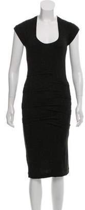 Nicole Miller Knee-Length Dress w/ Tags Black Knee-Length Dress w/ Tags