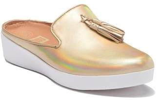 FitFlop Superskate Leather Tassel Slip-On Mule