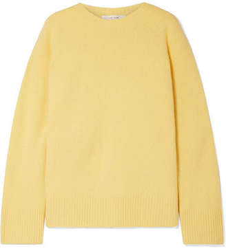 0804c6d3d0 The Row Sibel Oversized Wool And Cashmere-blend Sweater - Pastel yellow