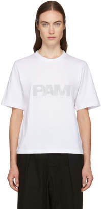 Perks And Mini White Reflective Logo T-Shirt
