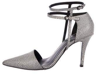 Alexander Wang Ankle Strap d'Orsay Pumps