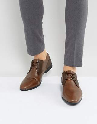 Burton Menswear Smart Shoes In Brown