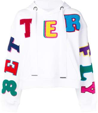 Mira Mikati Better Fly embroidered hoodie