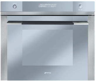 "Smeg Linea 27"" Electric Single Wall Oven"