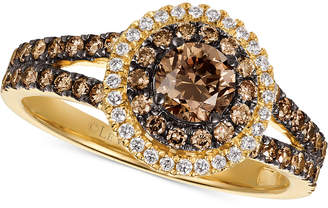 Le Vian Chocolatier® Diamond Ring (1 ct. t.w.) in 14k Gold $5,501 thestylecure.com