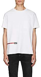 RtA Men's Logo Cotton T-Shirt - White