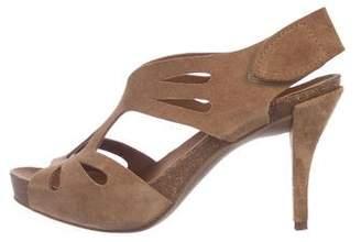 Pedro Garcia Suede High-Heel Sandals