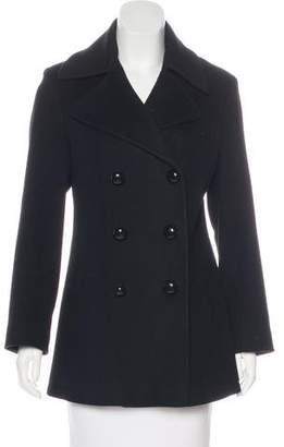 Fleurette Double-Breasted Wool Coat