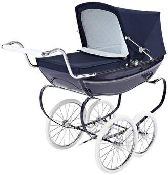 Silver Cross Oberon Dolls Pram - Navy