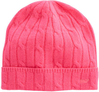 Vineyard Vines Cashmere Coral Lane Knit Hat