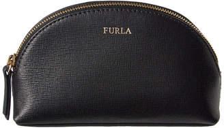 Furla Italia Medium Leather Cosmetic Case