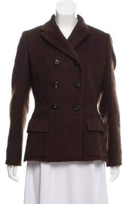 Salvatore Ferragamo Wool Short Coat