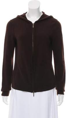 Magaschoni Cashmere Zip-Up Hoodie