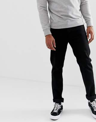 Cheap Monday Tapered Jeans In Deep Black
