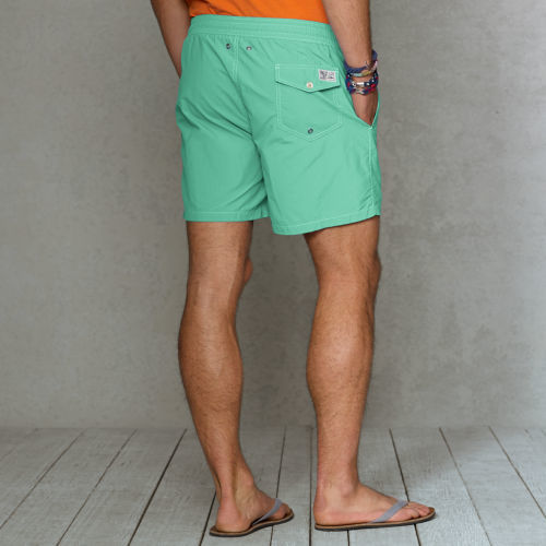 "Polo Ralph Lauren Solid 6"" Traveler Swim Short"