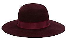 Hat Attack Velour Round Crown Hat $198 thestylecure.com
