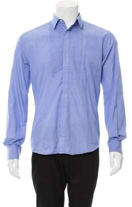 Joseph Woven Button-Up Shirt