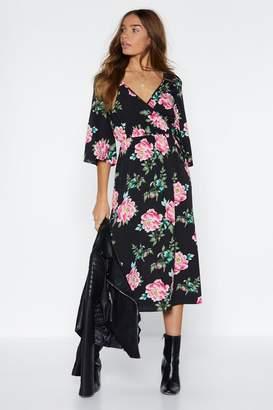 c401bff2aa76 Nasty Gal Petal Set to Grow Floral Dress