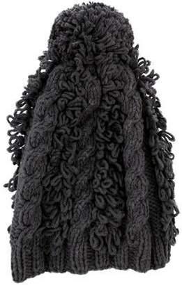 M.PATMOS Knit Pom-Pom Beanie w/ Tags