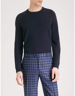 John Smedley Crowford wool and cashmere-blend jumper