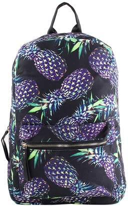 Pool' Escape to Paradise Limited Edition Backpack, Purple Pineapples